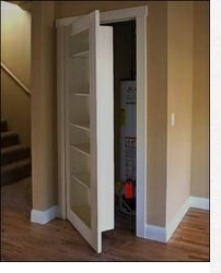 This is it!  Now I must find a builder..... bookshelf closet door