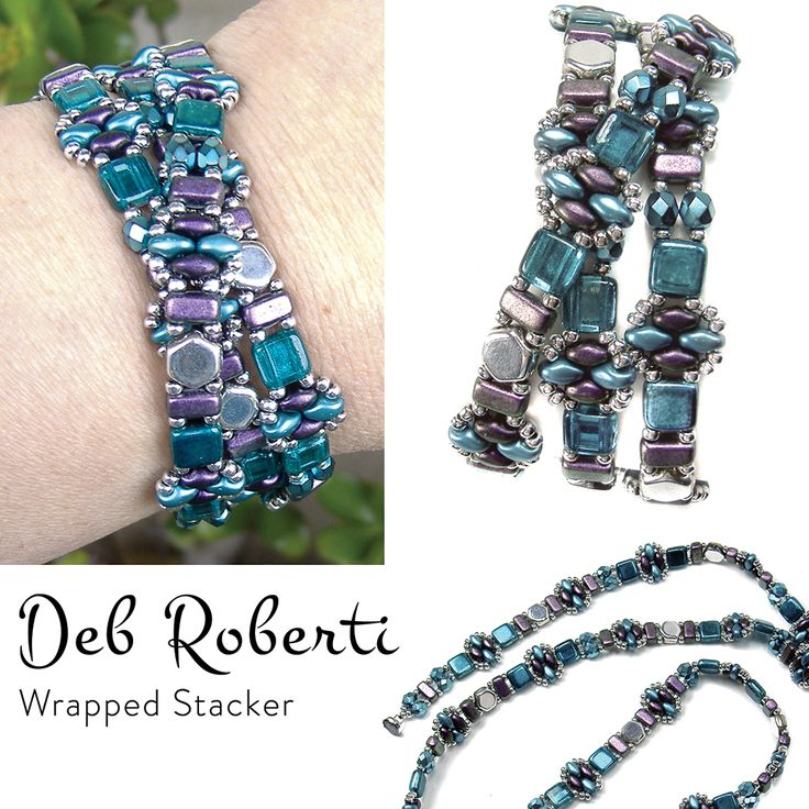 Wrapped Stacker, free pattern