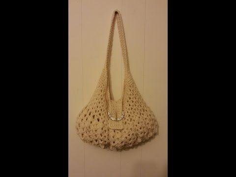 CROCHET How To #Crochet womens Handbag Purse #TUTORIAL #182 LEARN CROCHET - YouTube