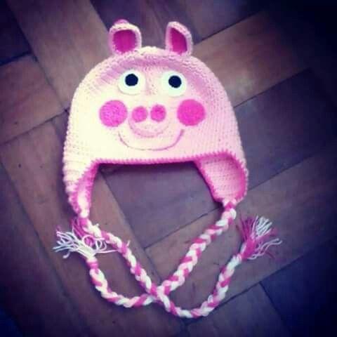 Gorro de Peppa pig