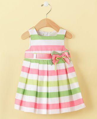 First Impressions Baby Dress, Baby Girls Bold Stripe Dress