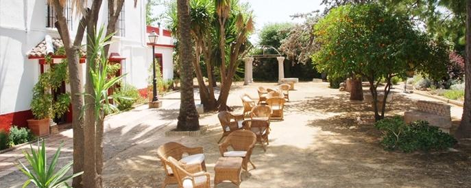 Hacienda la Vereda in Cordoba, Spain from our Andalucia bike tour.