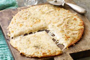 Cheesy Caesar Pizzeria Pizza - see more delicious pizza recipes at…