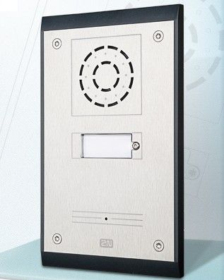 2N Helios IP Uni Single Button Door Phone