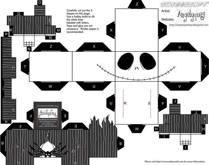 Jack Esquelinton. Papercraft. :)