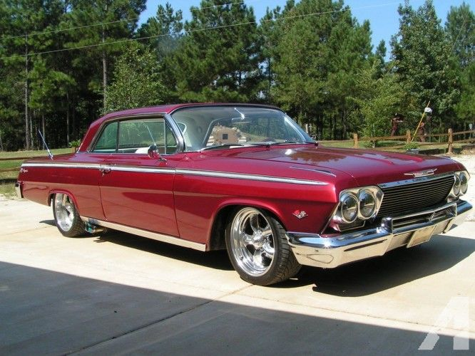 Occasion Chevrolet Impala Indiana Etats Unis Rouge Coupe