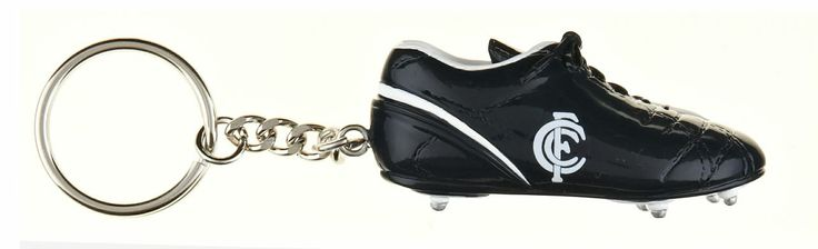 Official AFL Carlton Blues Footy Boot Keyring $ 11.00