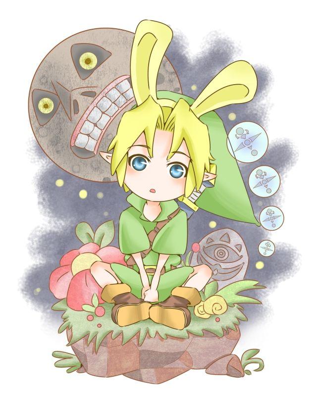 Link, The Legend of Zelda: Majora's Mask. | Majora's Mask ...