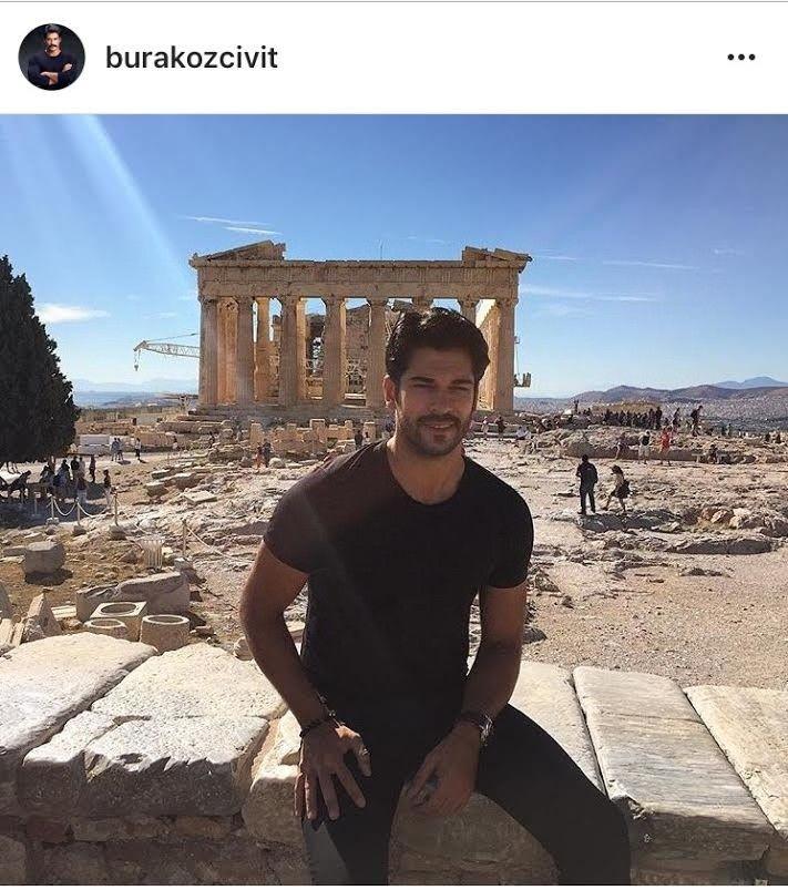 Κemal of Kara Sevda TV show #Acropolis