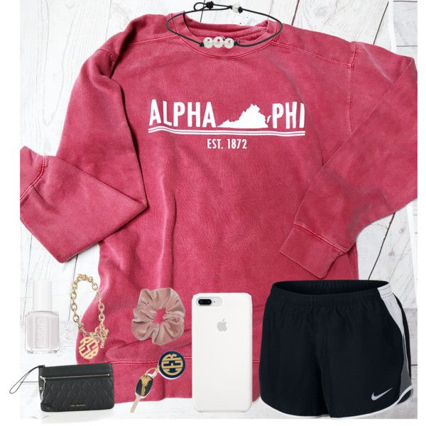 A fashion look from February 2018 featuring NIKE activewear shorts, Vera Bradley clutches and Alison & Ivy bracelets. Browse and shop related looks.