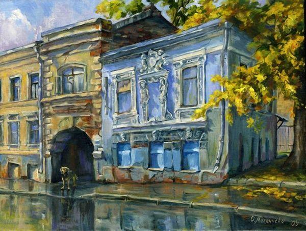 Московские зарисовки Ольги Маланчевой (17 фото)