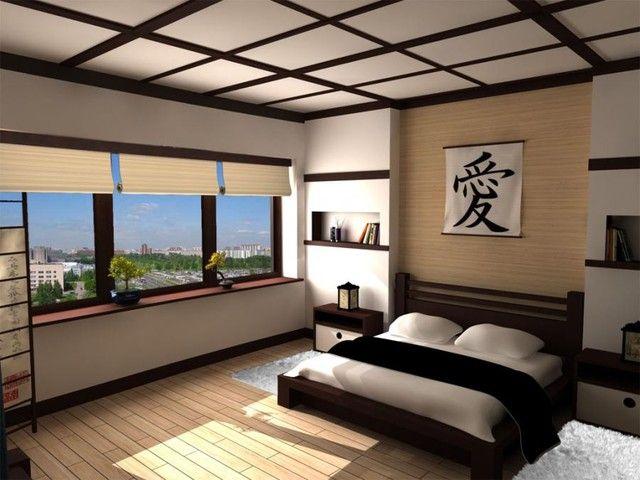 Die besten 25+ Japanisch inspiriertes schlafzimmer Ideen auf ...