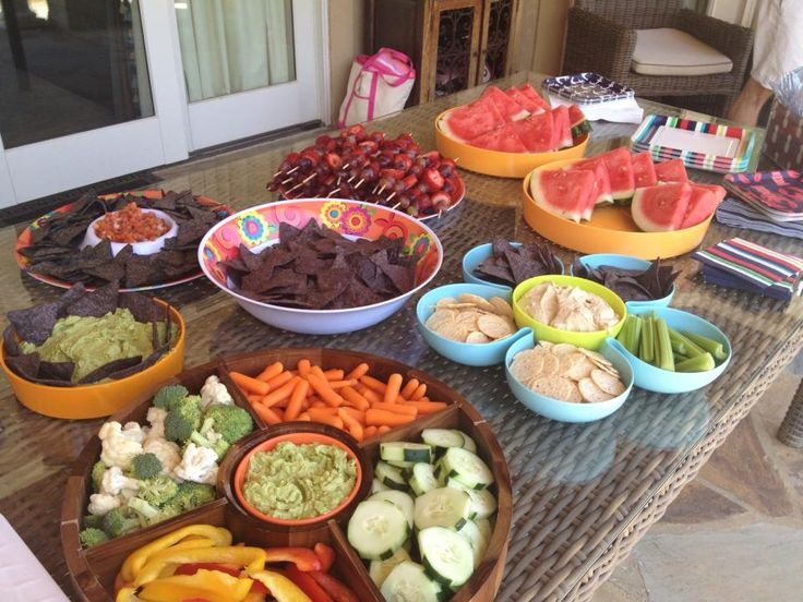 Healthy Pool Party Food For Kids And Adults
