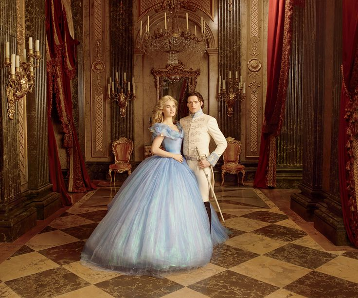 See exclusive portraits of the cast of Cinderella shot by Annie Leibovitz now in Vogue.