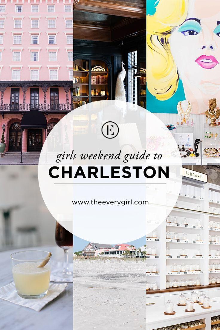 Girls' Weekend Guide to Charleston, South Carolina #theeverygirl