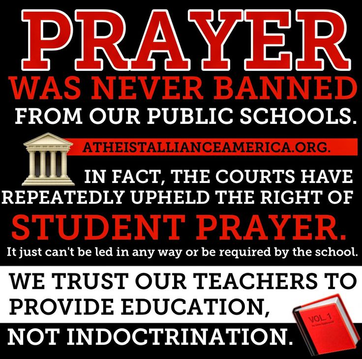 Education NOT indoctrination. We are a secular nation. Elena Allen