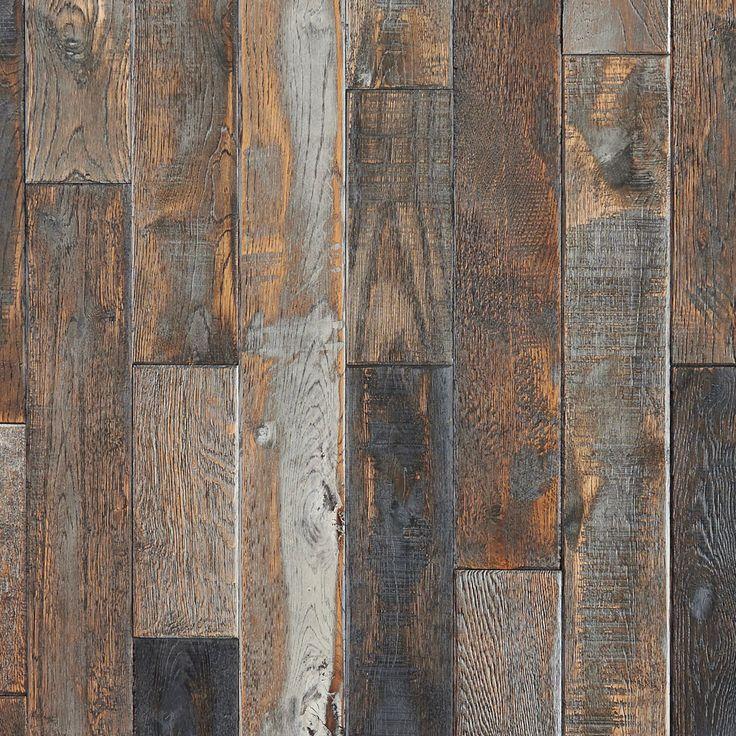 Harbour Island Polished Linear Mosaic Hardwood Floors Flooring
