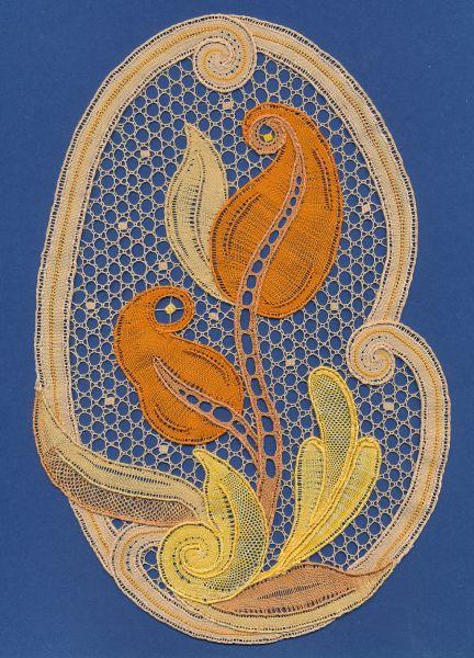 Withof bobbin lace by Ingrid Bormuth