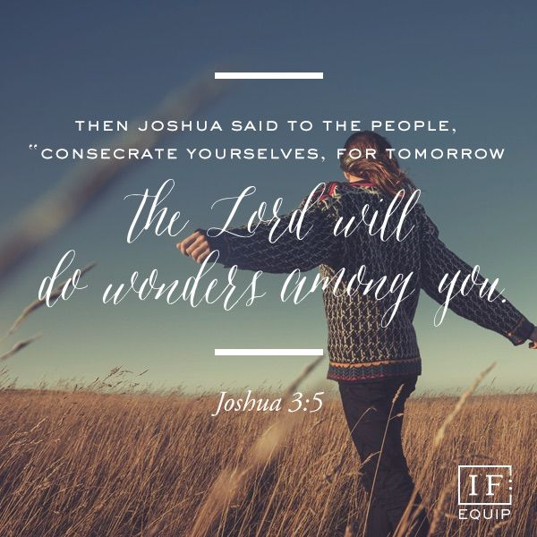 Joshua 3 | IF:Equip. How has God worked through the faith of others to help you believe him more?