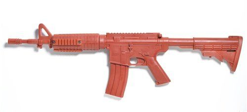 ASP Government Carbine Red Gun Training Series Same Size, Looks and Feel of Real Equipment. Fits snugly in Duty Gear. Red Color mitigates mistaken identity with real weapons or gear. Made with Urethane for Law Enforcement and Military Training.  #AspLawEnforcement #Sports