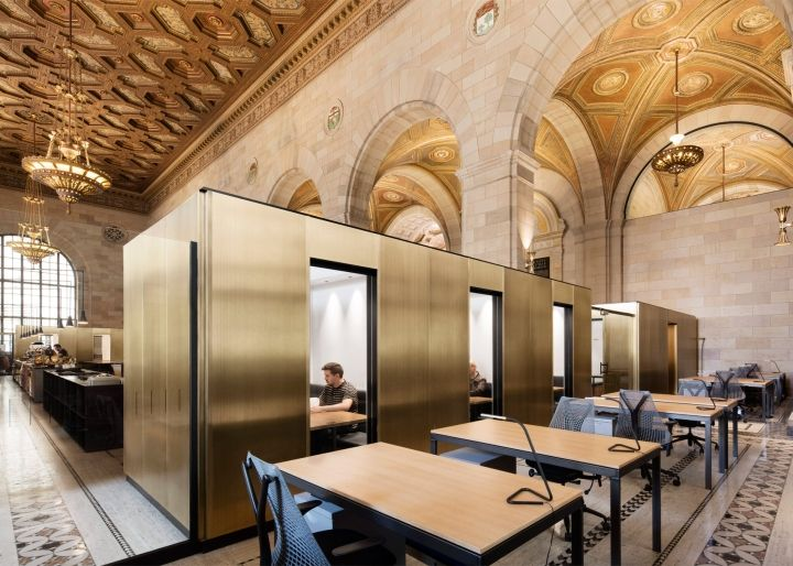 Crew Offices And Cafe By Henri Cleinge Montreal Canada Retail Design Blog