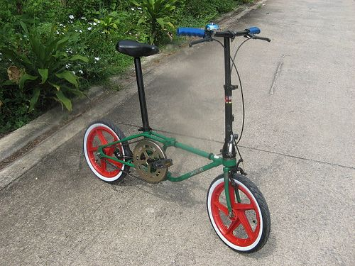 DAHON Classic green & Red 1