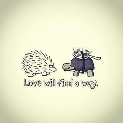 Love will find a way.