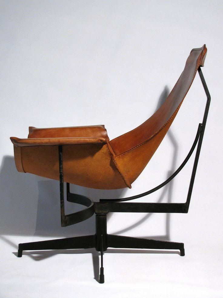 Rare Pair of William Katavolos Lounge Chairs | From a unique collection of antique and modern lounge chairs at https://www.1stdibs.com/furniture/seating/lounge-chairs/