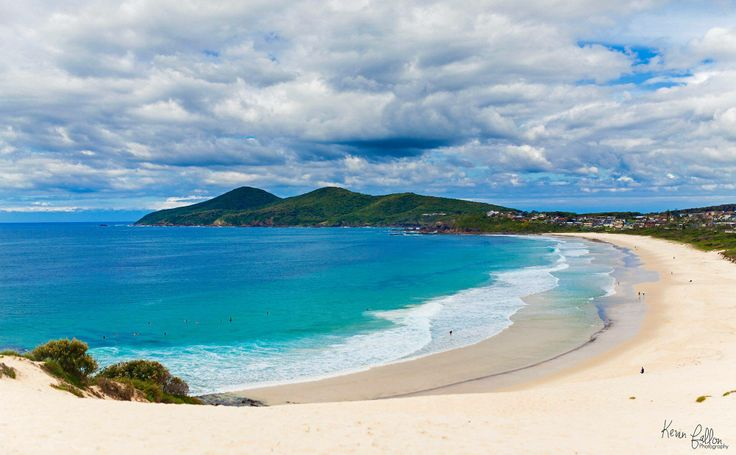 One mile beach, Forster, NSW