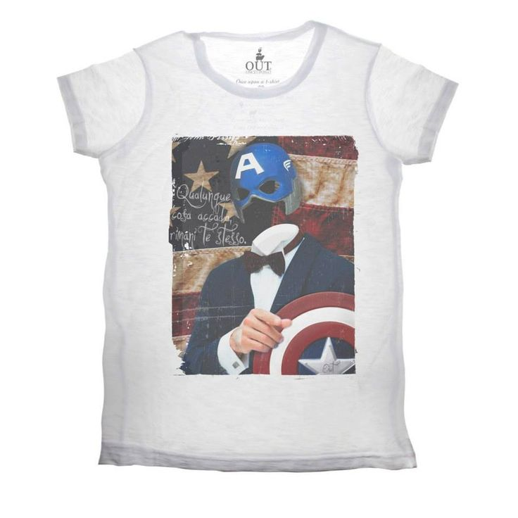 T-shirt Capitan America Available on www.manymaltshirt...