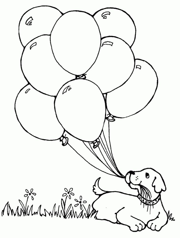 Free Printable Balloon Coloring Pages, balloons coloring ...