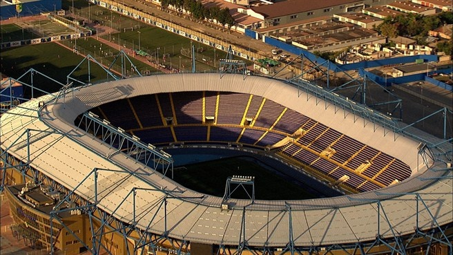 Estadio Metalist de Karkhov (60.000 espectadores) - Ingrid Irribarren.