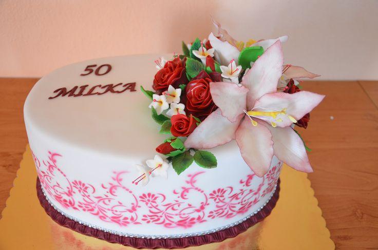 50-th b-cake