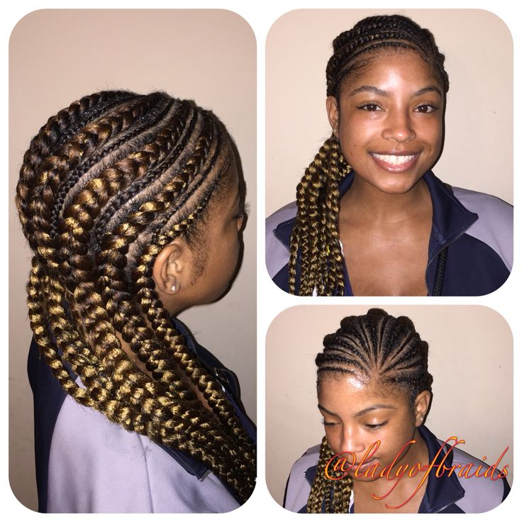 Exceptional ... Out Dope Neat Protective Hairstyle Ghana Feeding Cornrows Goddess Braids  For Black Women Fishbones Aka Iverson Braids Boxer Braids Pocahontas With  Weave ...