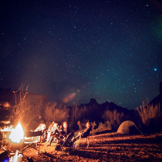 Anyone go camping this weekend? Who's got good campfire stories to share?