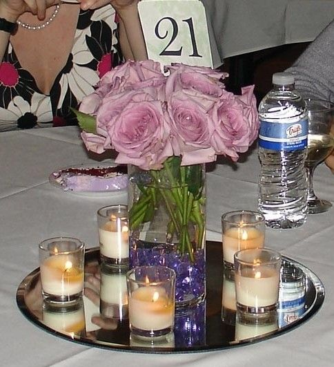 Mirror Table Decorations: 49 Best Images About Mirror Centerpieces On Pinterest