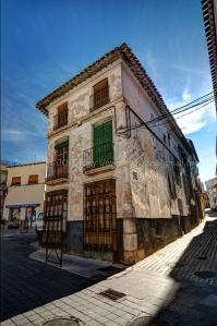 Street Corner Velez Rubio, Almeria, Spain