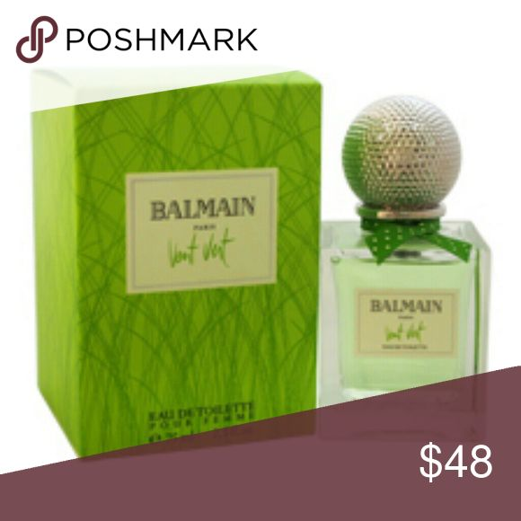 VENT VERT BY PIERRE BALMAIN-WOMEN-EDT-SPRAY-2.5 OZ VENT VERT BY PIERRE BALMAIN-WOMEN-EDT-SPRAY-2.5 OZ-75ML-AUTHENTIC-MADE IN FRANCE  AUTHENTIC FRAGRANCE FOR WOMEN---VENT VERT BY PIERRE BALMAIN---EDT---SPRAY---2.5 OZ---75 ML---MAIN ACCORDS OF FRAGRANCE : GREEN,WOODY,FLORAL,CITRUS,AROMATIC,FRESH SPICY.    New:?A brand-new, unused, unopened, undamaged item (including handmade items) Balmain Other
