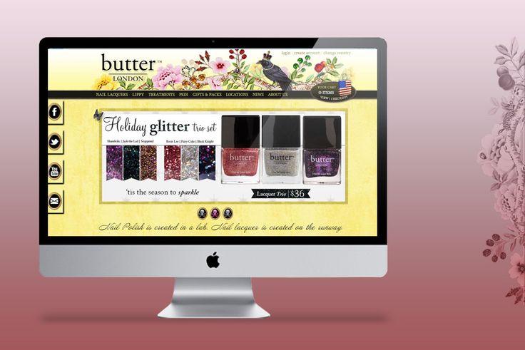 Web Development / Butter London