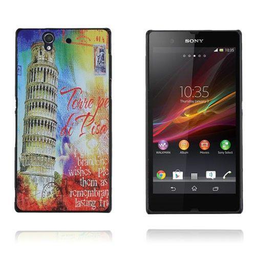 Postcard (Pisa Tower) Sony Xperia Z Case