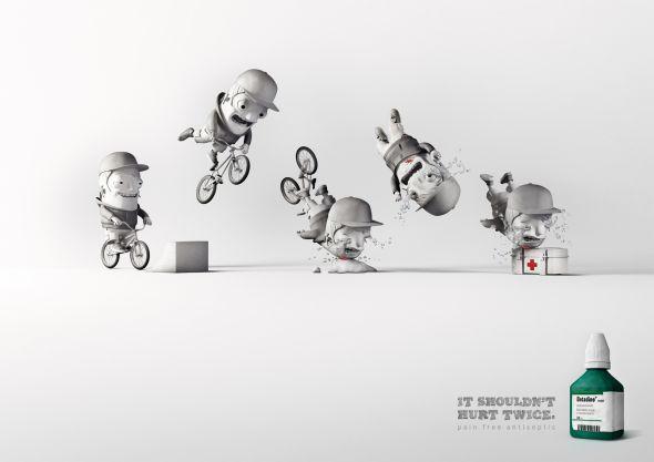 Betadine: Bike Accident