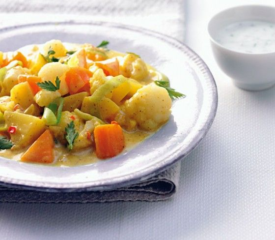 Curry-Gemüse-Eintopf