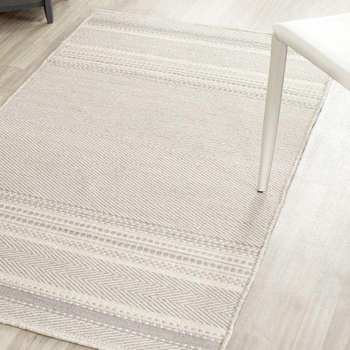 Kilim Grey / Ivory Traditional Rug