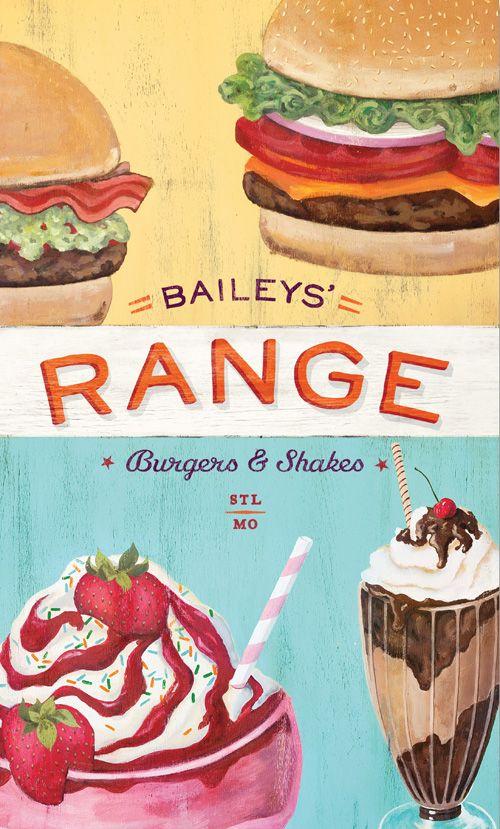 Art of the Menu: Bailey's Range