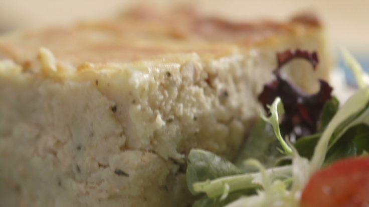 Pâté au saumon gratiné | Cuisine futée, parents pressés