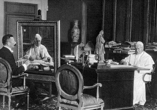 Pope St. Pius X issued his Encyclical letter Lacrimabili Statu in 1912