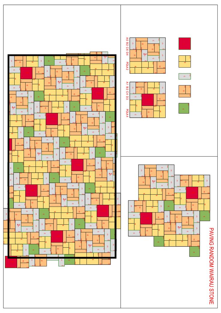 Pattern Paving Random
