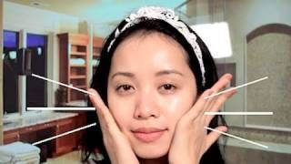 Layering Skin Care : Night Time, via YouTube.