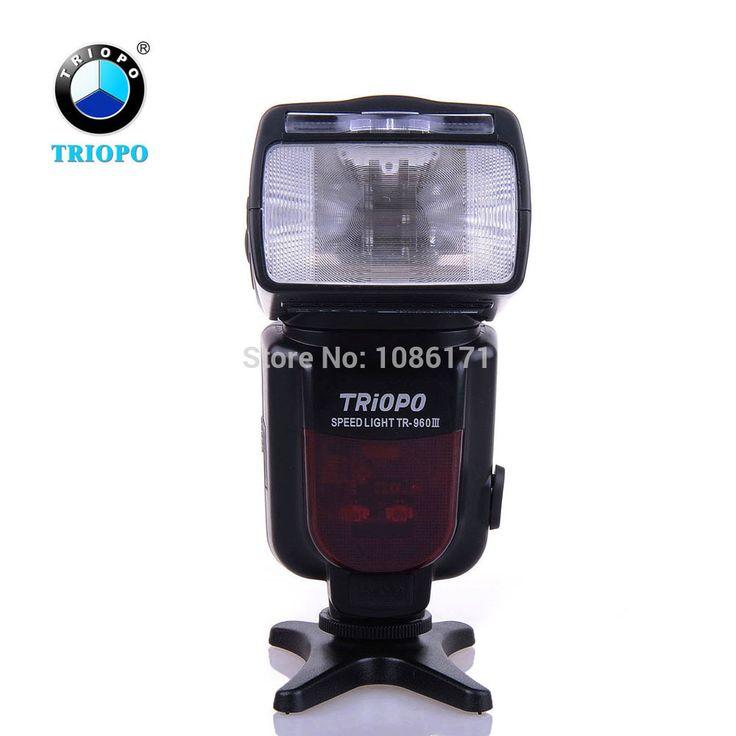 TRIOPO TR-960III Беспроводная Вспышка Speedlite Master/Slave режим Вспышки для Цифровой Зеркальный Фотоаппарат Canon Nikon как YONGNUO YN-560 III