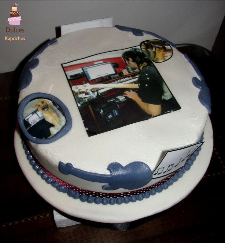 Torta Musica #TortaMusica #TortasDecoradas #DulcesKaprichos